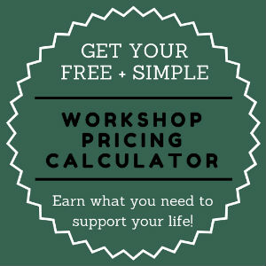 Pricing Workshops Calculator